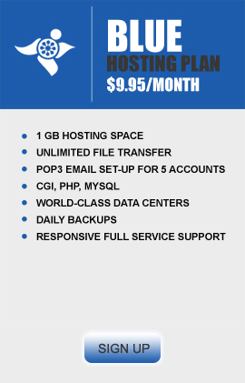 Blue Hosting Package