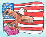 Flags Across The Nation - Kid's Patriotic Art Contest