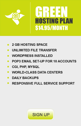 Green Hosting Package